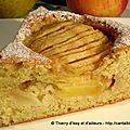 Gâteau léger aux pommes et aux poires.