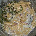 One pot pasta asperges-bacon-boursin
