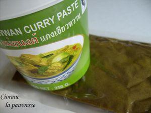 curry vert de poisson et riz parfum 233 la cuisine de quat sous