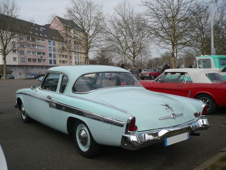 STUDEBAKER Champion 2door Sedan 1955 Strasbourg (2)