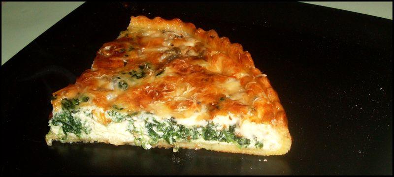 Recettes de quiches faciles et rapides - Recette quiche saumon epinard ...