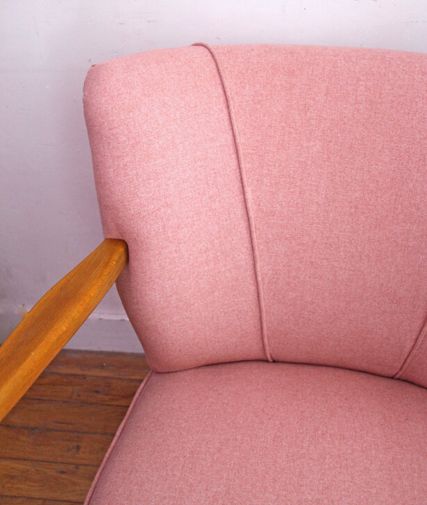 fauteuil-cocktail-annees-50-pink-detail-tissu
