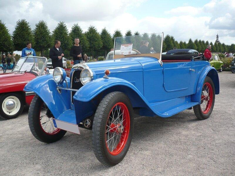 AERO 500 roadster 1929 Schwetzingen (1)