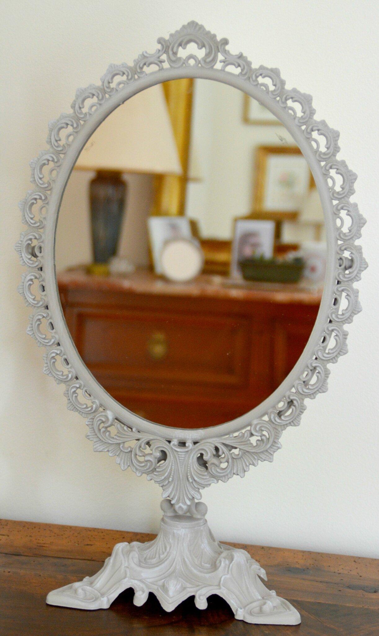 miroir psych retouche photo de chines brocantes atelier de la choisille. Black Bedroom Furniture Sets. Home Design Ideas