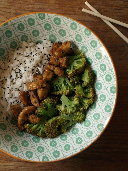 tempeh coco umebosis brocoli riz