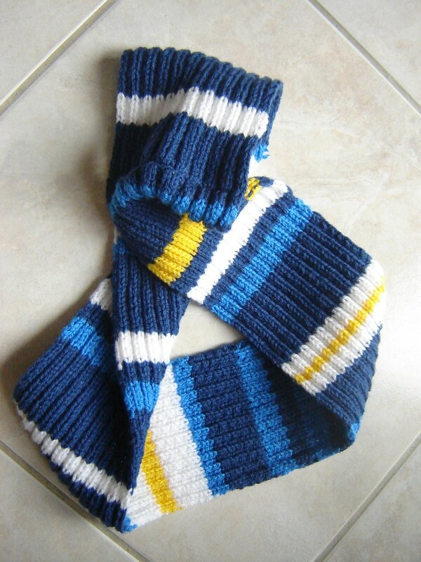Snood marin(3)
