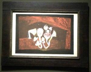 L'ange du Bizarre, le romantisme noir- Paul Klee, Feurs de grotte