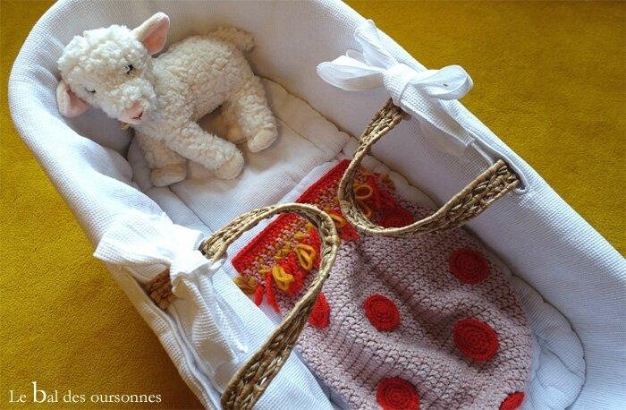 116 Blog Cocon Bébé Laine Crochet Berceau