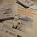Réservez le lundi 30 mars 13 heures à montmarault ! affiches et flyers à distribuer et à diffuser sans modération...