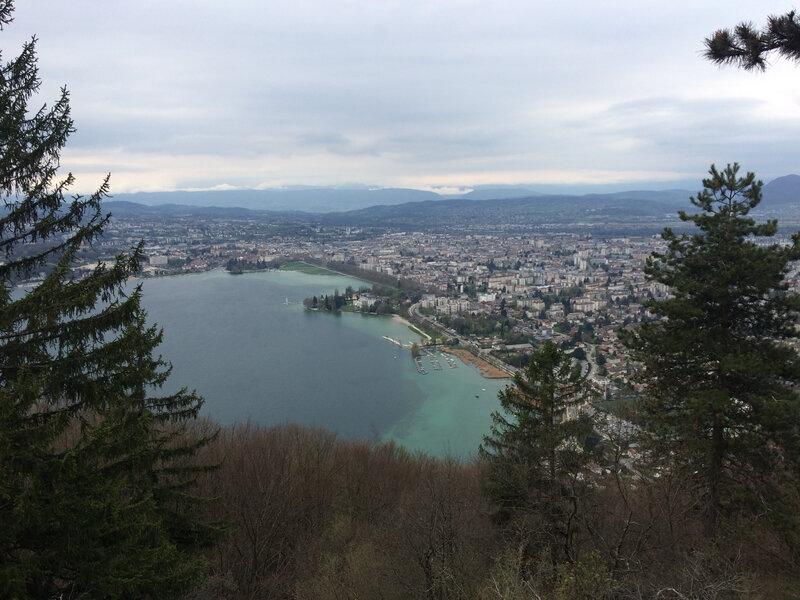 Trail des Glaisins à Annecy