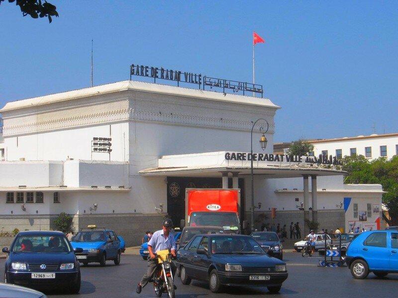 Gare de Rabat Ville & Taxis