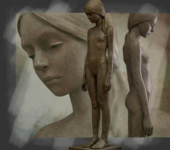 berit hildre--sculptures-groupes