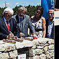 Monteux : le parc spirou pose sa première pierre
