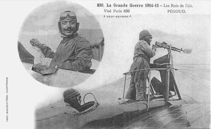 CPA Pégoud Grande Guerre