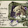 Pour ma Douce Amie Pretty * 2013