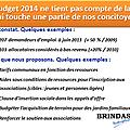 Intervention des élus bpp sur le buget communal au conseil municipal du 16/12
