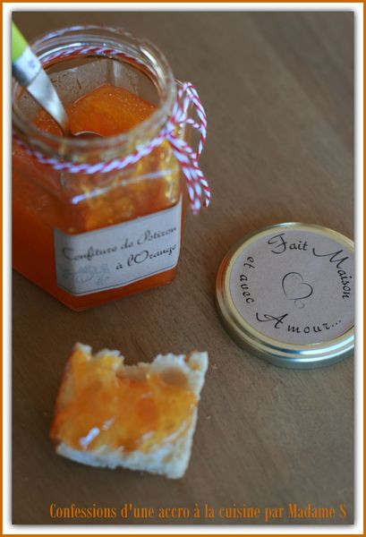 Confiture potiron orange 009