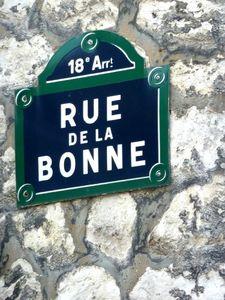 rue de la bonne