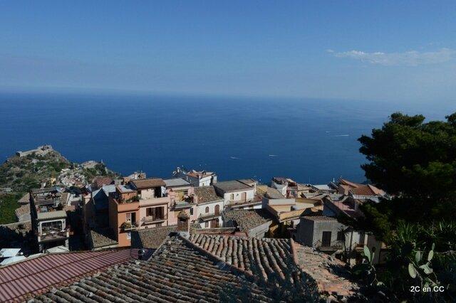Les toits de Castelmola - Castelmola - Sicile