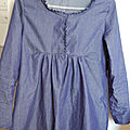 #garde robe de grossesse : la blouse liquette