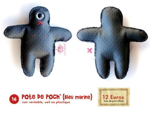 16/ Pot' de Poche (bleu marine)