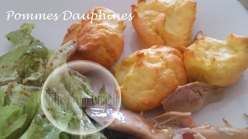 Pommes dauphines 6