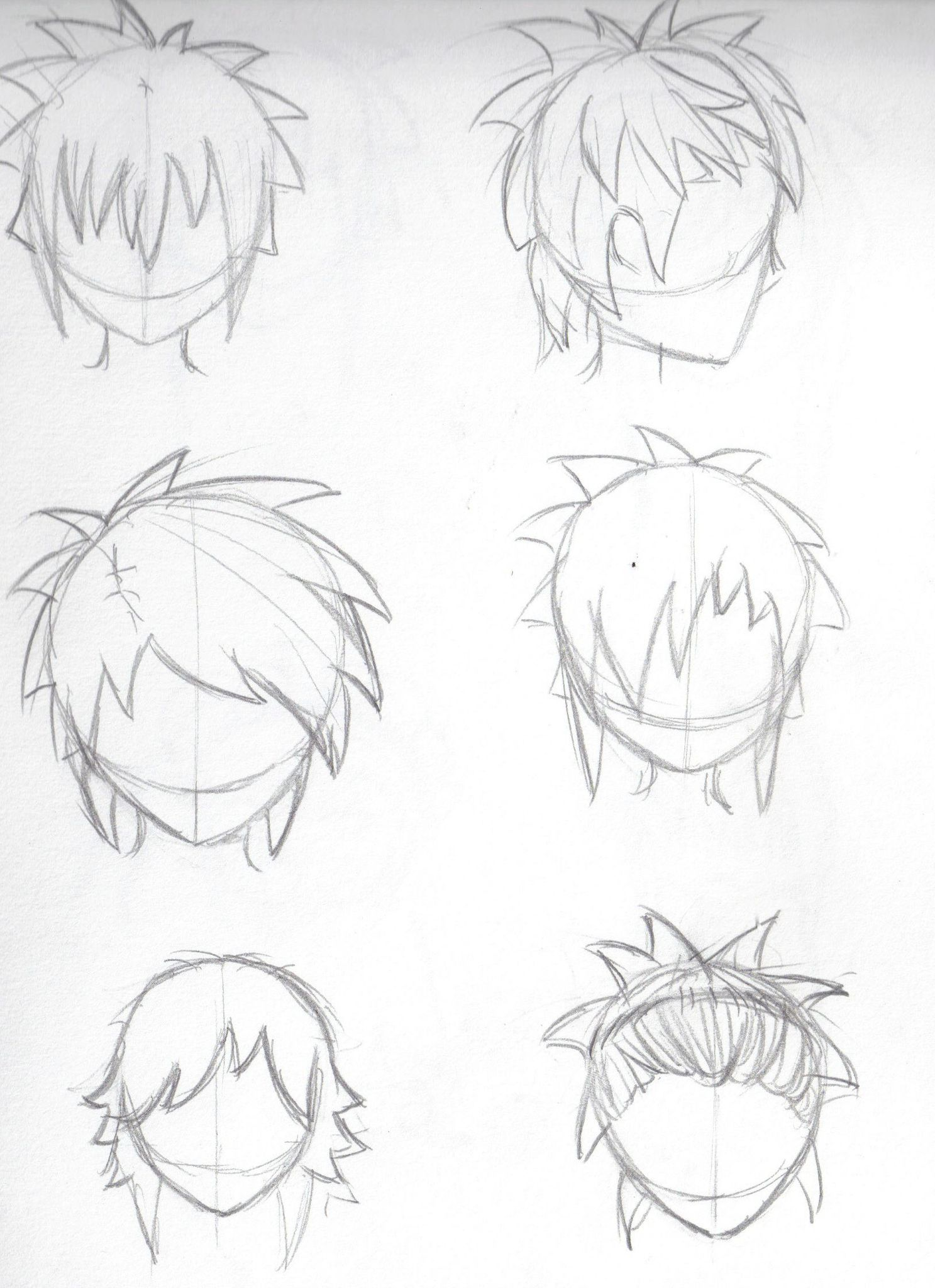 Coupe de cheveux manga fille michele pfeifer blog for Dessin de coupe de cheveux homme