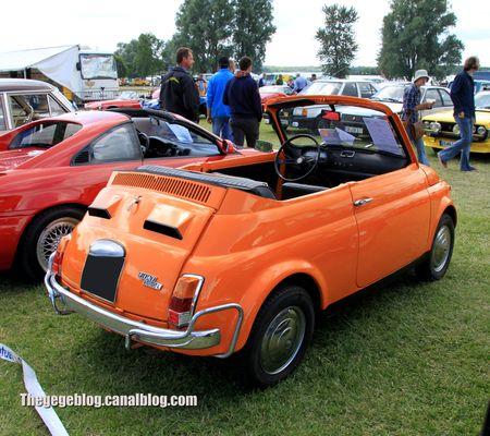 Fiat 500 L cabriolet de 1969 (Retro Meus Auto Madine 2012) 02