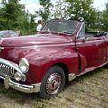 PEUGEOT 203 cabriolet 1952 Ohnenheim (1)