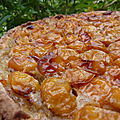 Tarte aux mirabelles