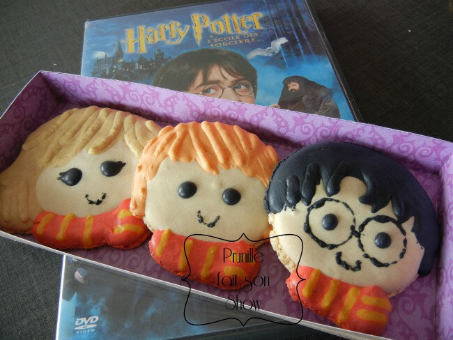 harry potter hermione ron macaron prunillefee