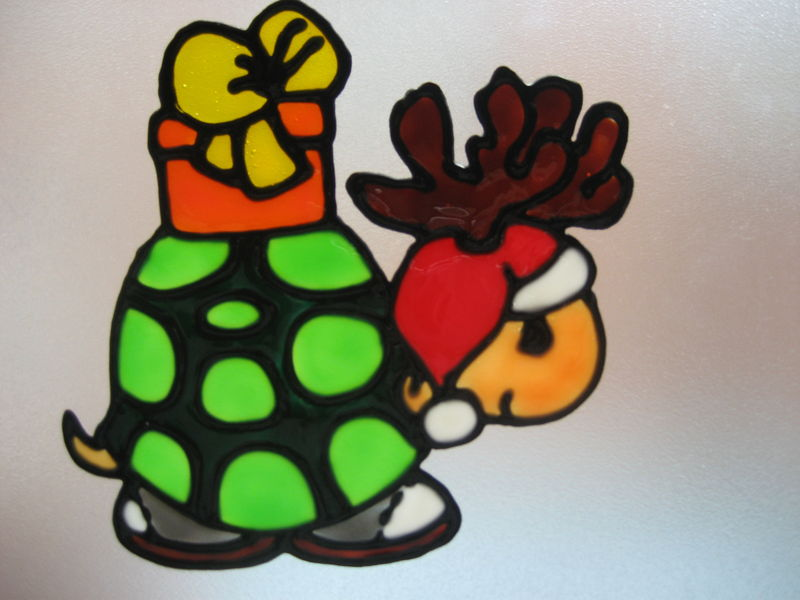 tortue de nol - Windows Color Noel