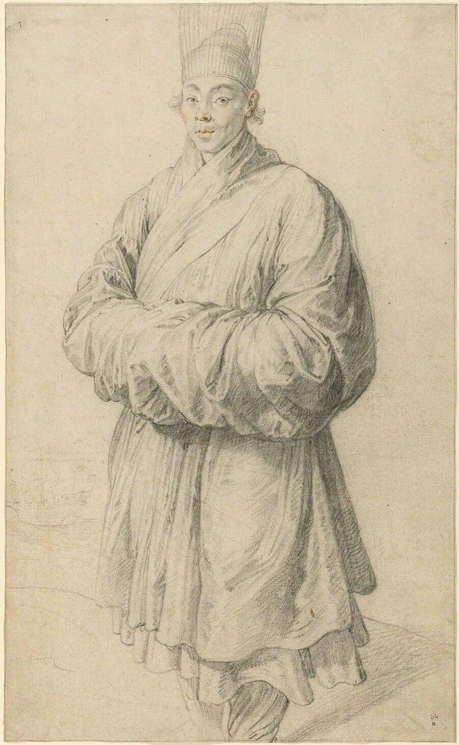 Man in Korean Costume, about 1617, Peter Paul Rubens. The J. Paul Getty Museum