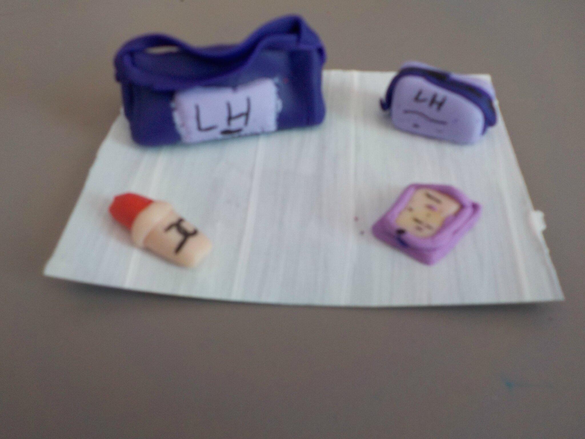 TUTO FIMO: le sac + les accessoires