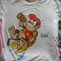 TSHIRT CUSTOM DIDDY KONG