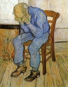 Van Gogh - Le vieil homme triste