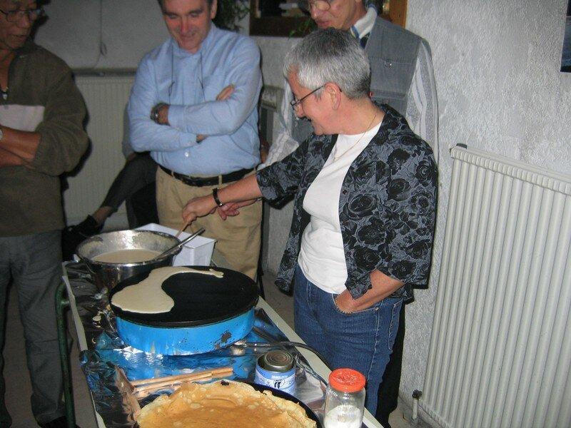 première crêpe