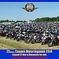 22ème coupes moto légende 2014 (compte-rendu) / 22th coupes moto legend 2014 (report)