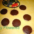 Tartelettes  la ganache