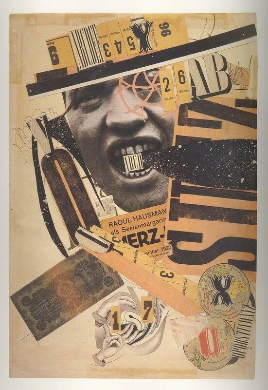 Raoul Hausmann, ABCD, portrait de l'artiste, 1923-24