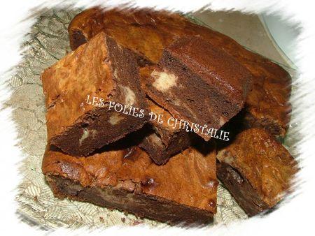 Brownie marbré 20