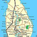 Sri lanka: voyage de décembre photos/jours