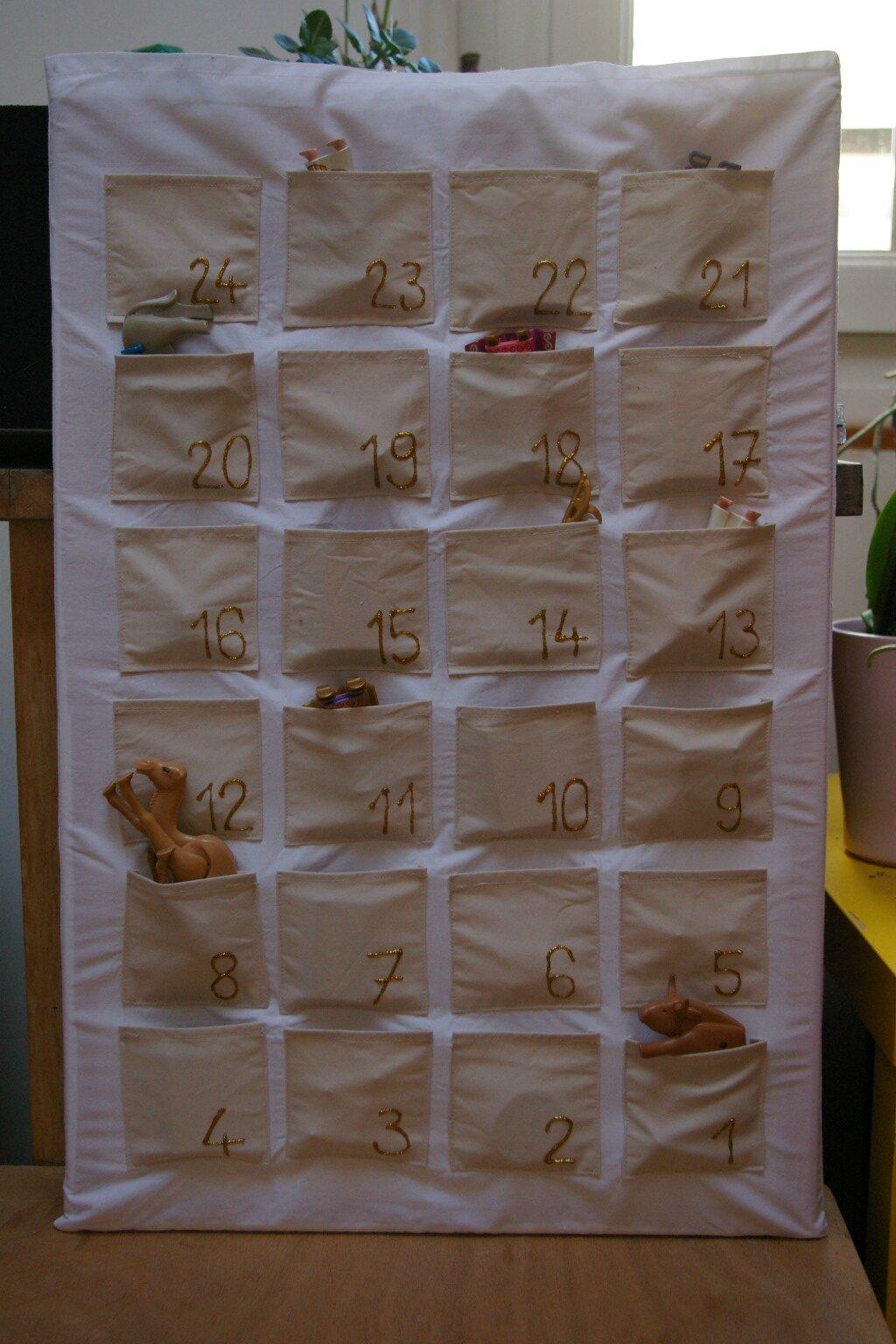 Un calendrier de l 39 avent version delta pour notre petit - Calendrier de l avent pour garcon ...