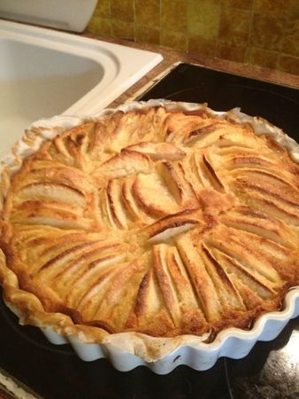 tarte aux pommes frang