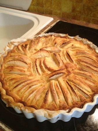 tarte aux pommes frang