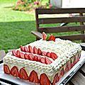 Le fraisier, le framboisier