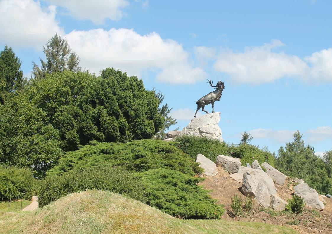 Le caribou du Mémorial de Beaumont-Hamel
