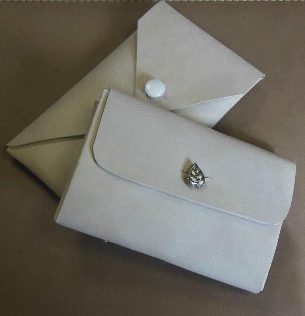 pochettes recyclées agendas 1