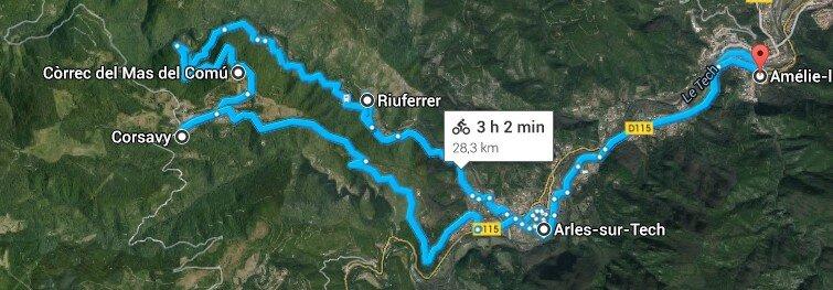 Corsavy vallee du Riuferrer