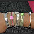 Quelques bracelets
